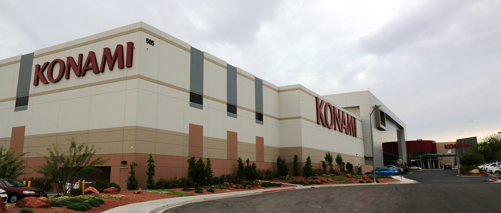Les bâtiments de Konami à Vegas