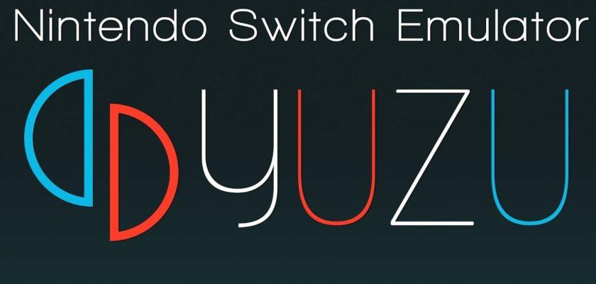 Emulateur Yuzu Nintendo Switch pour PC